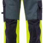Hi-Vis geel/marineblauw